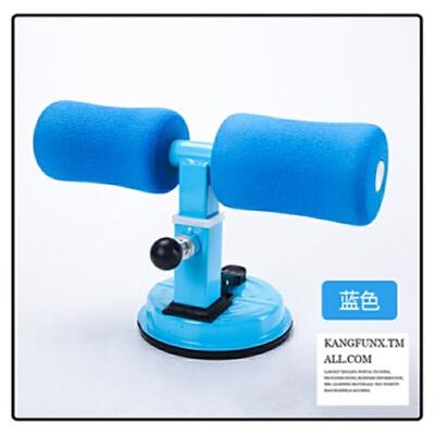 仰卧起坐健身器材家用辅助懒人瑜伽收腹简易卷腹自动吸盘式压脚器 蓝色 +辅助拉力绳 发货周期:一般在付款后2-90天左右发货,具体发货时间请以与客服协商的时间为准