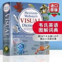 韦氏英语图解词典 英文原版学习工具书 Merriam Webster's Visual Dictionary 图片词典