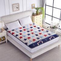 法莱绒加厚床垫1.8m床榻榻米床褥1.5m学生宿舍单人0.9米1.2m垫褥