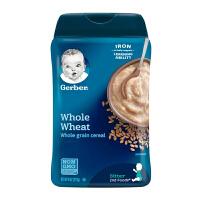 保税仓发货 Gerber/嘉宝 婴幼儿辅食 2段全麦谷物米粉 二段6个月以上 227g/罐 海外购