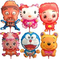 新品多款卡通铝膜气球可爱动物造型微商地推礼品生日儿童玩具批�l
