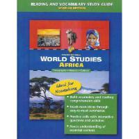 【预订】World Studies Africa Reading and Vocabulary Study Guide