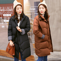 棉衣中长款韩版2018新款bf羽绒冬季棉袄女潮加厚外套