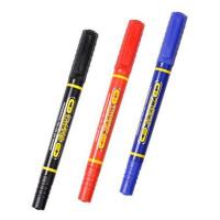 记号笔 2906 小双头头记号笔 水性双头勾线笔 12支盒装