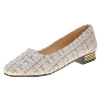 WARORWAR 法国新品YN13-308春夏韩版低跟舒适女单鞋
