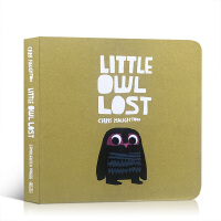 【全店300减100】英文原版 Little Owl lost 小小迷路了 克里斯 霍顿 儿童英语启蒙图画本纸板书 早教