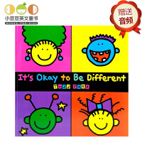 英文原版 It's Okay to Be Different 不一样,没关系!