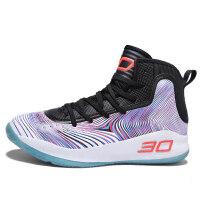 新款透气篮球鞋男高帮战靴耐磨减震运动鞋实战篮球鞋学生球鞋子男