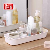 inomata日本进口厨房清洗剂托盘浴室用品收纳托盘盒桌面收纳盒