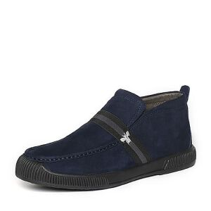 Belle/百丽冬季专柜同款深兰磨砂牛皮男皮靴(绒里)32D47DD6