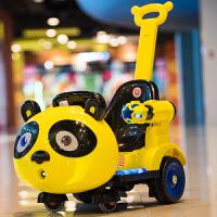 婴儿童电动四轮遥控汽车儿童电动摩托车男女孩宝宝可坐玩具车推车