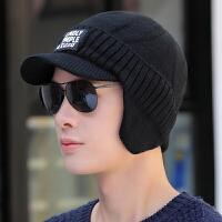 帽子男冬天毛线帽冬季套头帽保暖包头针织帽