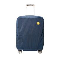 行李箱保护套拉杆箱套旅行箱皮箱套罩防水牛津布2022/24/28寸耐磨 藏青 牛津布【20寸】