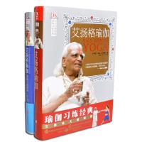 满39包邮,艾扬格瑜伽精准习练指南+艾扬格瑜伽精进习练指南(精装)2本套装 女性瑜伽印度艾杨格 红皮+蓝皮 两册全套