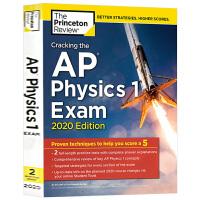 破解AP物理学1考试2020版 英文原版 Princeton Review Cracking the AP Physi