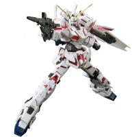 ?万代敢达拼装模型 RG 25 1/144 RX-0 独角兽高达毁灭模式可变形