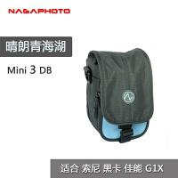 纳伽微单相机包 索尼黑卡单电单肩摄影包A6000内胆包 佳能M6G7X