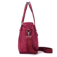 女士韩版手提包大容量防水尼龙女包春新款潮休闲包单肩斜跨旅行包