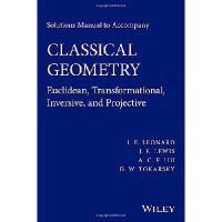 【预订】Solutions Manual to Accompany Classical Geometry: Euclid