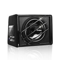 车载低音炮音响重低音改装汽车12v10寸喇叭音箱大功率有源功放板SN1294 H102-10寸低音炮【标配】