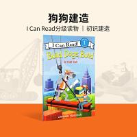 英文原版Build, Dogs, Build: A Tall Tail[平装][4-8岁]