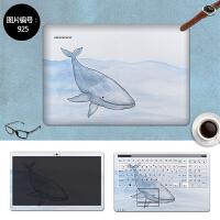 惠普CQ43 CQ436外壳贴膜CQ40笔记本贴膜电脑贴纸14寸保护膜 SC-925 三面+键盘贴