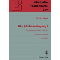 【预订】GI - 20. Jahrestagung I: Informatik Auf Dem Weg Zum Anwe