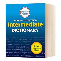 韦氏中级词典 英文原版 Merriam Webster's Intermediate Dictionary 英文版字典工