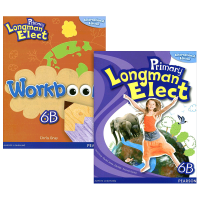 华研原版 培生香港朗文小学英语教材6b全套 英文原版 Primary Longman Elect 6B 学生用书+练习
