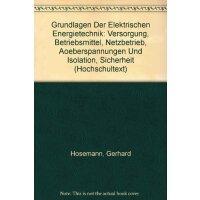 【预订】Grundlagen Der Elektrischen Energietechnik: Versorgung,