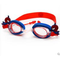 卡通眼镜儿童泳镜男童高清防水防雾游泳眼镜小孩宝宝蜘蛛侠游泳装备