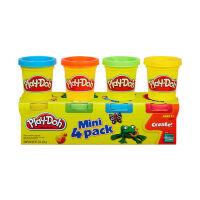 安全无毒培乐多彩泥橡皮泥4色装玩具来自美国 面粉制造