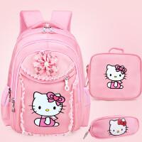 HelloKitty新款小学生7-912周岁女孩童1-3-4-6年级凯蒂猫儿童书包
