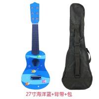 木质儿童吉他玩具可弹奏21寸初学小孩仿真吉他木制乐器玩具男女孩a287