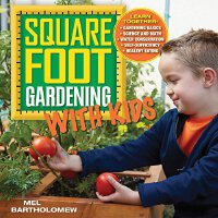 英文原版 Square Foot Gardening With Kids