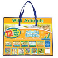 12-Wall Chart Packs: Animals & Life Cycles 9781849984492