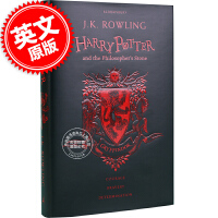 现货 格兰芬多学院精�b版 哈利波特与魔法石 英文原版 Harry Potter Philosopher's Stone