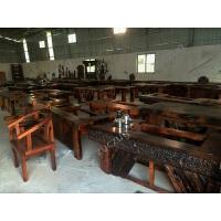 zuczug老船木茶桌椅组合实木家具中式阳台户外功夫茶几茶台泡茶桌椅组合 2.+4+ 组装