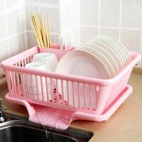 厨房置物碗碟架沥水架洗放晾碗架盘架滴水碗筷收纳沥水篮碗篮大号