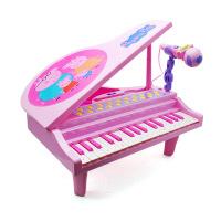 Peppa Pig 小猪佩奇儿童电子琴3-6岁钢琴男孩女孩宝宝初学佩奇小钢琴玩具