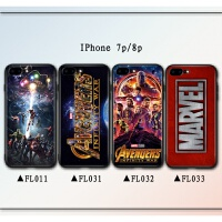 苹果x复仇者联盟手机壳6s漫威妇联3灭霸钢铁侠iphone8保护套7plus 苹果7p / 8p -- FL033