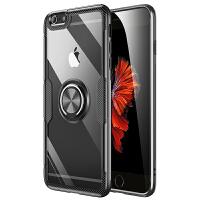 iphone6手机壳 iPHONE 6PLUS保护套 苹果6/6plus手机壳套 全包硅胶软边创意隐形指环支架磁吸防摔