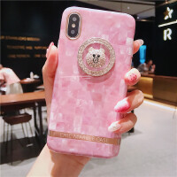 iPhone苹果x手机壳8p硅胶软可爱卡通超萌6splus7plus全包防摔女款 6/6s 4.7 圈圈小熊