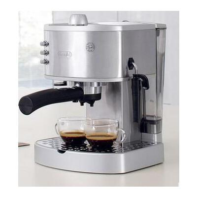 Delonghi/德龍 EC330S 意式家用半自動泵壓式咖啡機 手磨不鏽鋼