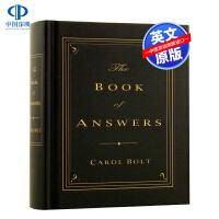 答案之书 英文原版 The Book of Answers 精装 我的人生命运解答之书版尤利西斯 神奇的答案之书生日礼