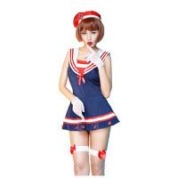 角色扮演制服cosplay性感情趣内衣极度诱惑套装学生水手服11165