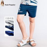 【3折价:56.7元】暇步士童装男童休闲短裤夏季新款儿童3分裤薄男孩纯棉运动裤
