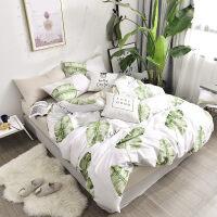 北欧黛墨四件套1.5米1.8m床上用品被套床单式4件套 1.5m(被套200*230 床单230*25