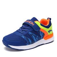童鞋男童弹簧鞋子男孩韩版2017夏秋季新款童跑步鞋网面儿童运动鞋