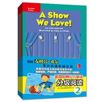 美国加州少儿英语分级阅读2 幼儿英语启蒙教材全16册 3-6岁英语单词句子入门自然拼接书籍 小学生分级阅读英语绘本 小